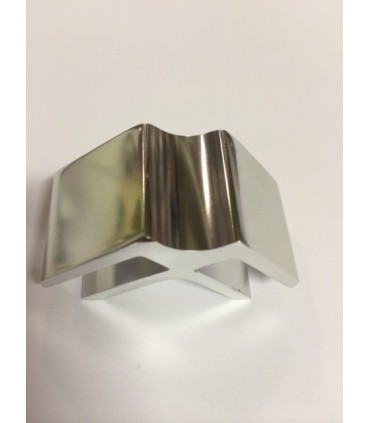 Connecteur Tor box pour deux volumes de verre à 90°