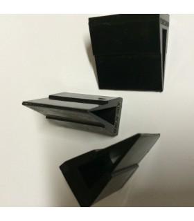 Pieds pour verre d'épaisseur 6 à 8 et 10 à 12 mm
