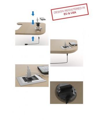 Connecteur USB1 ou USB2