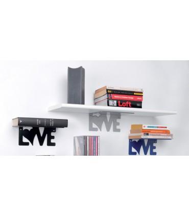 Etagère ou support étagère bois Love par Bolis Italia