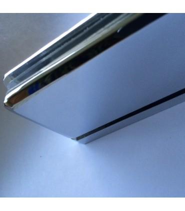 Charnière haute ou basse ouverture à 180° pour porte en verre