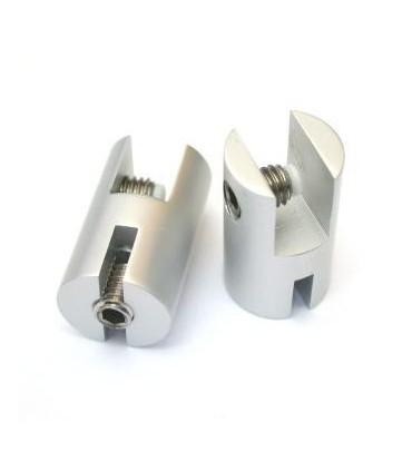 Support pour panneau vertical d'épaisseur 6 à 8 mm