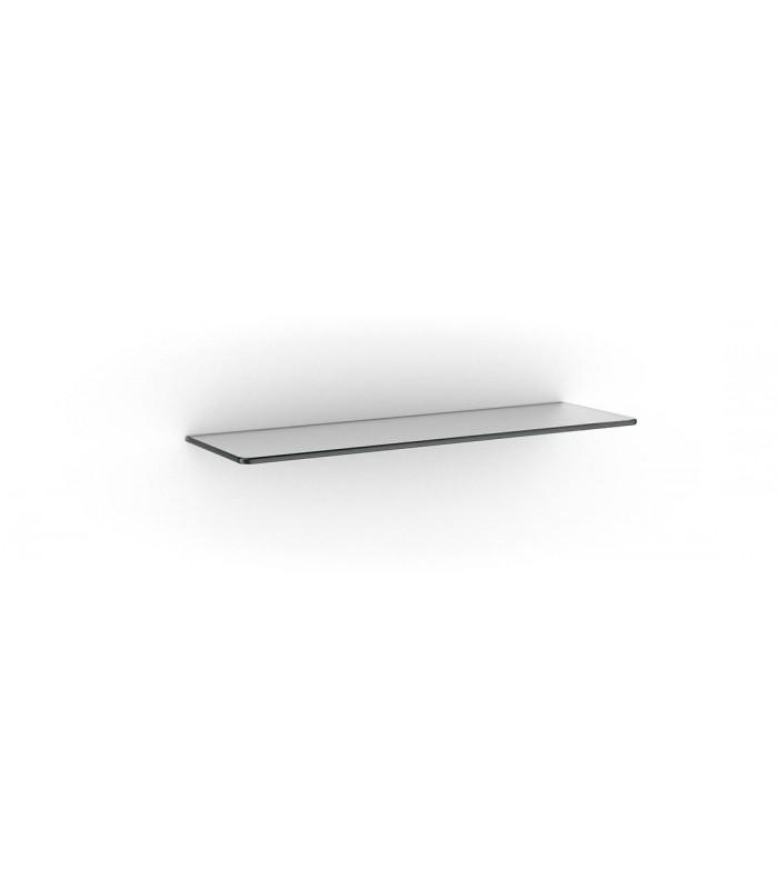 Tablette murale en verre série Linéa opaque