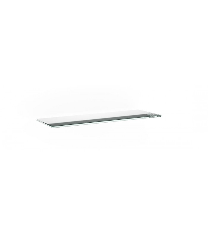 Tablette en verre ép.6 mm série BA1B transparent