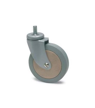 Roulette en Bois de Chêne diamètre 100 mm