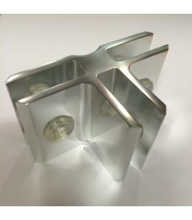 Connecteur Tor box pour 3 volumes de verre à 90°