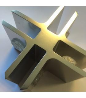 Connecteur Tor box pour 4 volumes de verre à 90°