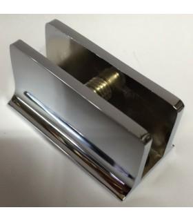 Support rectangulaire pour verre d'épaisseur 4 à 10 mm