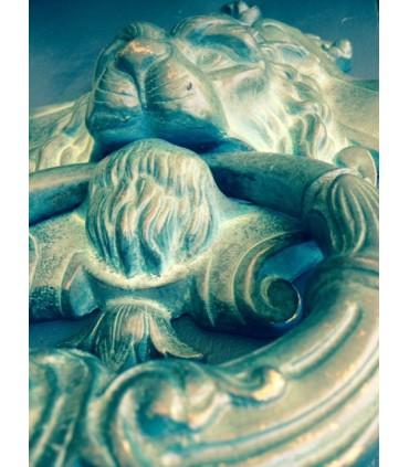 Heurtoir XL série tête de Lion détail 1