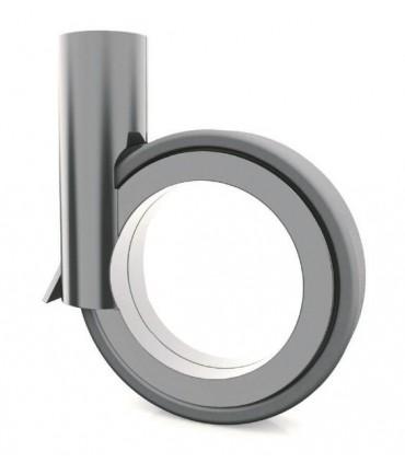 Roulette design diamètre 90 mm avec frein