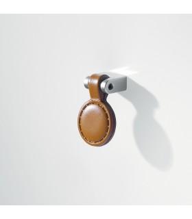 Poignée de meuble cuir articulé MB09006 par Confalonieri