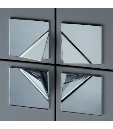 Ligne Origami forme carré MB09142 finition chromé brillant