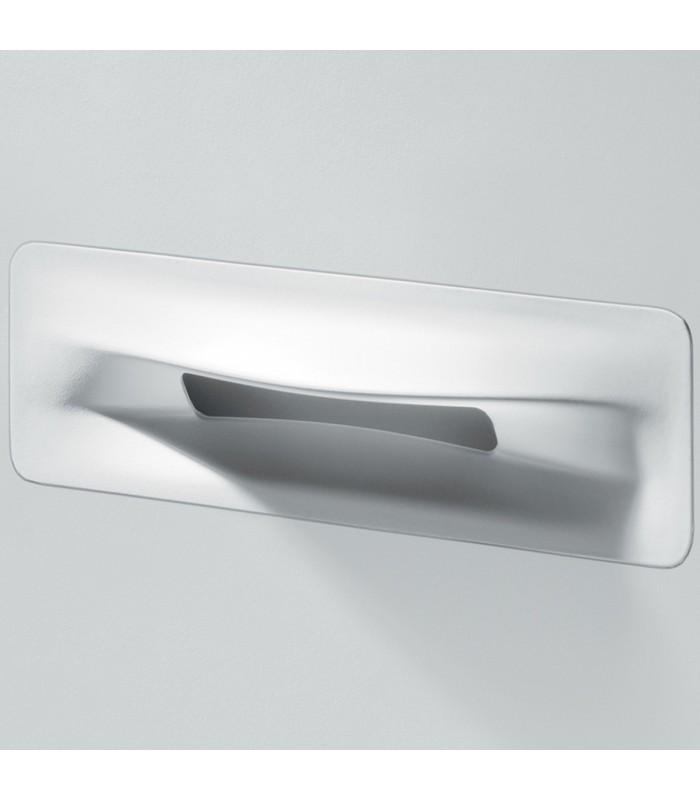 Ligne Origami comme une bouche ouverte MB09145 finition blanc mat