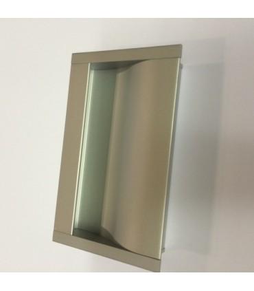 Poignée cuvette rectangulaire série Box 0066 par Viefe