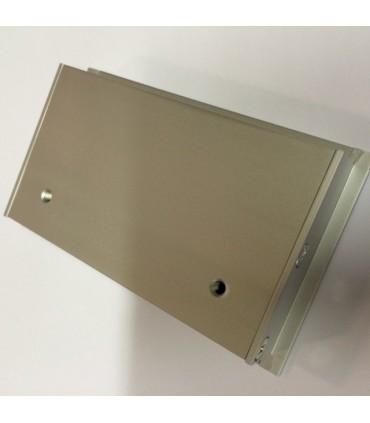 Poignée cuvette rectangulaire série Box 0066 par Viefe vue de dos