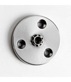 Embase Aluminium ronde Ø 60 mm avec M10