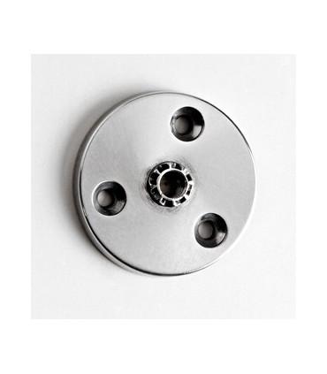 Embase Aluminium pour pied de meuble