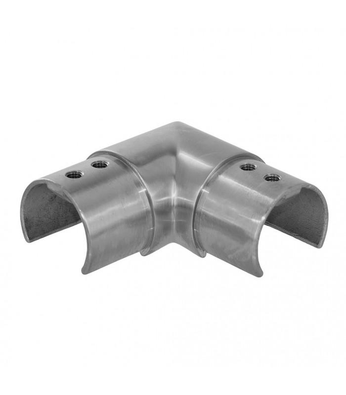 Raccord horizontal à 90° pour tube fond de gorge