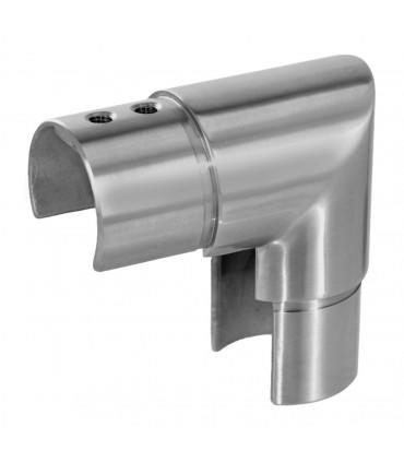 Raccord vertical à 90° pour tube fond de gorge