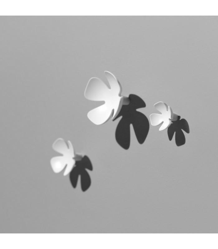 Patère Flowers série CC00322 par Confalonieri set de 3 pièces
