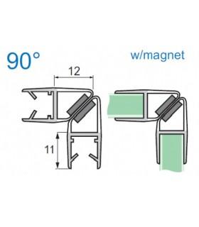 Joint d'étanchéité magnétique 90° série S.5713