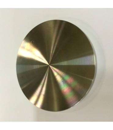 Platine pour collage UV coté collage UV sous plateau verre