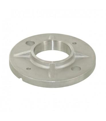 Embase à souder pour tube Ø 42.4 x 2 mm