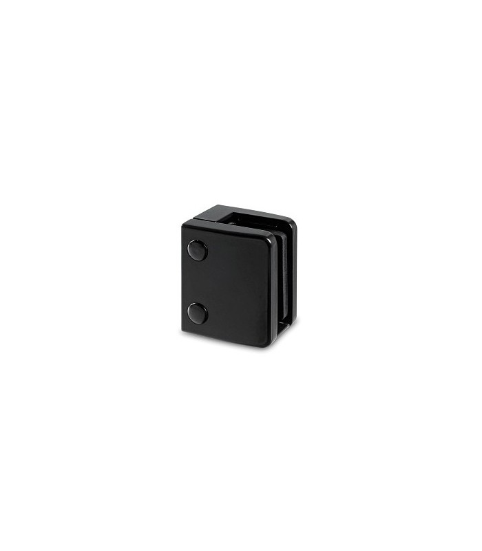 Pince a verre à talon plat - modèle 24 - Zamak noir 9005 mat