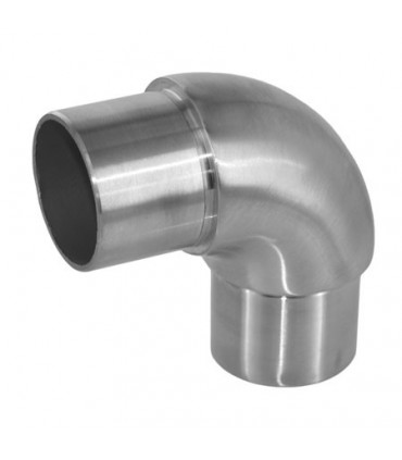 Raccord 90° angle arrondi pour tube Ø 42.4 x 2 mm