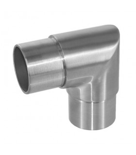Raccord 90° angle vif pour tube Ø 42.4 x 2 mm