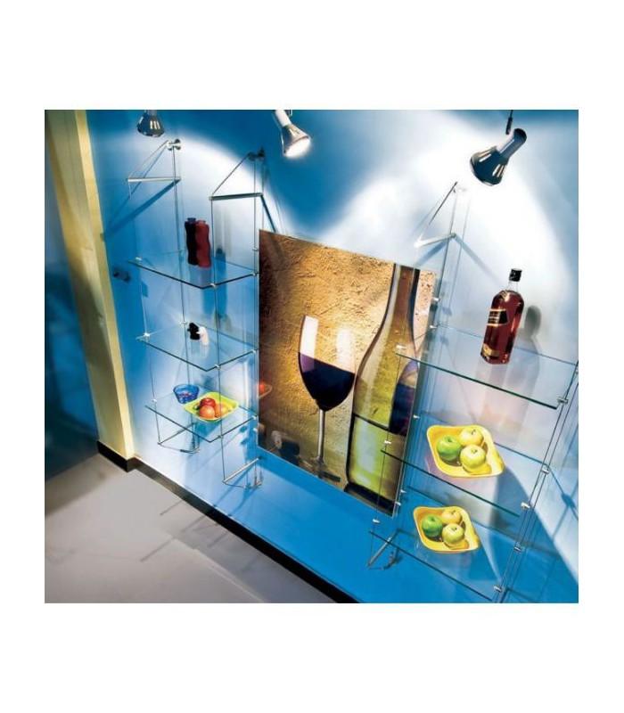 kit c bles tendus pour tag res fixation murale igs d co. Black Bedroom Furniture Sets. Home Design Ideas