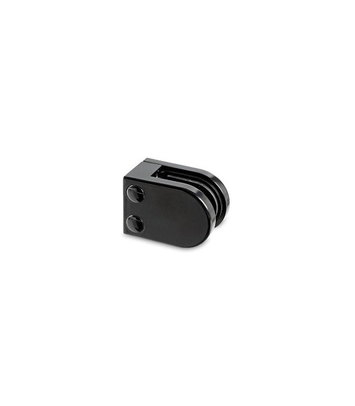 Pince a verre à talon plat - modèle 25 - Zamak noir 9005 mat