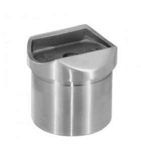 Adaptateur tube sur tube pour main courante ronde sur poteau rond