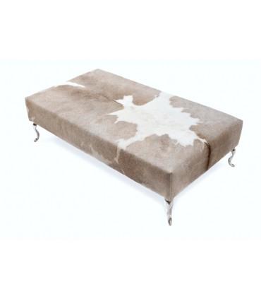 Pied de meuble design Baroque en aluminium massif sur banquette