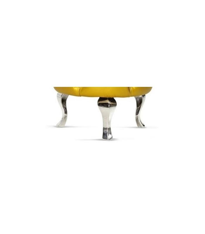 pied de meuble d coratif au design baroque en aluminium