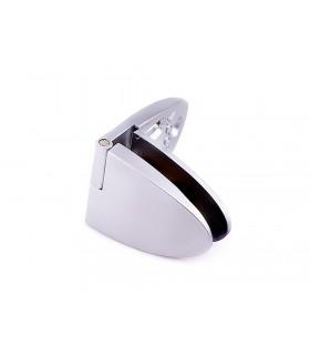 Charnière intermédiaire concept Badge pour porte vitrée