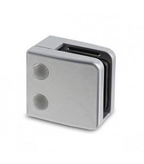Pince a verre à talon plat - modèle 26 - Zamak gris 9006 mat