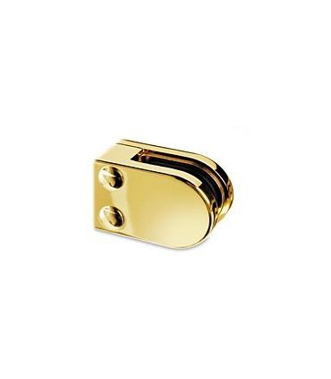 Pince a verre à talon plat - modèle 27 - Zamak doré brillant