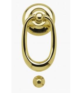 Heurtoir marteau de porte en laiton massif série Véronne