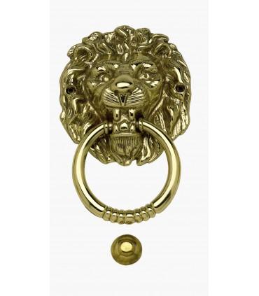 Heurtoir marteau de porte d'entrée tête de Lion Sénégal