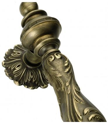 Heurtoir marteau de porte en laiton massif série Carmen