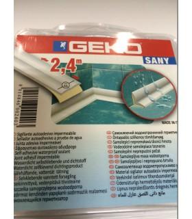 Joint d'étanchéité pour bordure de baignoire ou lavabo