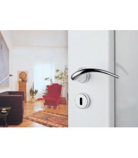 Poignée de porte sur rosace SINN by Hannes Wettstein