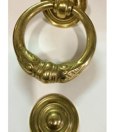Heurtoir marteau de porte en laiton massif série Impérial