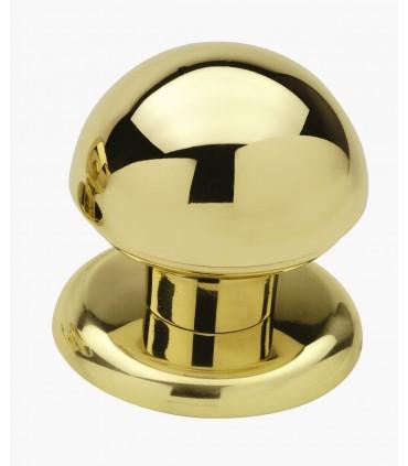 Poignée bouton de porte en laiton massif série Urano