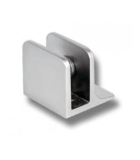 Pince fixe avec embase pour verre d'épaisseur 4 à 8 mm