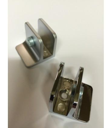 Pince fixe pour verre d'épaisseur 4 à 8 mm