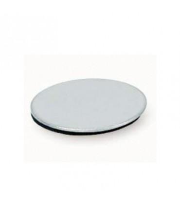 Plaque adhésive ronde pour loquet magnétique