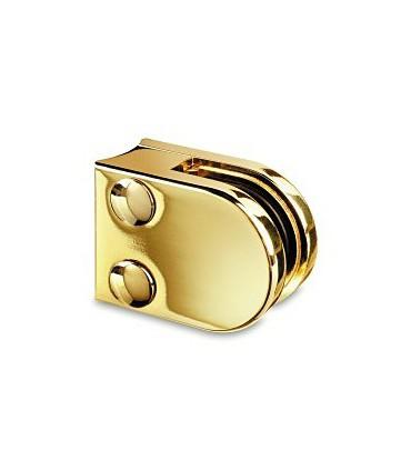 Pince a verre pour tube - modèle 20 - Zamak doré brillant