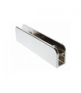 Pince fixe série Square XL pour verre de 4 à 8 mm